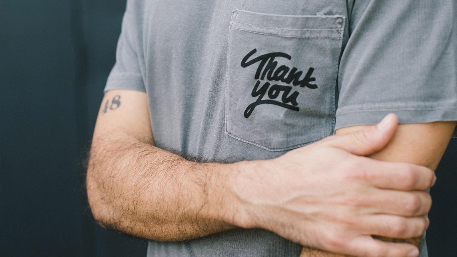 """Müşteriye """"teşekkür ederek"""" fark yaratın"""